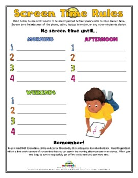 graphic about Screen Time Rules Printable named Show Season Suggestions