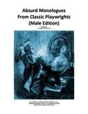 SCRIPT: Absurd Monologues From Classic Playwrights (Male Edition)