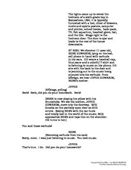 """SCRIPT: """"The Grammar Play"""", a 1-act play for production by young people"""