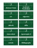 SCReady ELA Vocab Cards (3rd Grade)