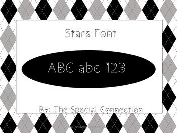 SCStars Font