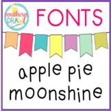 SD Apple Pie Moonshine Font