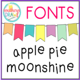 SD Apple Pie Moonshine Font