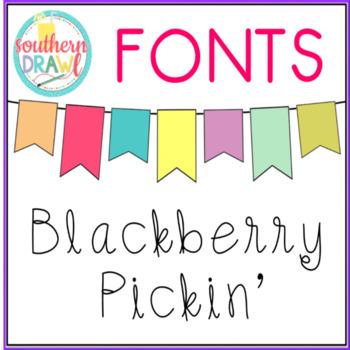 SD Blackberry Pickin' Font