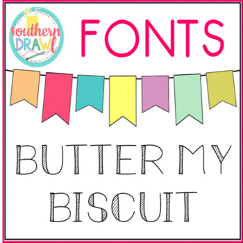 SD Butter My Biscuit Font