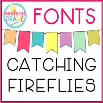 SD Catching Fireflies Font FREEBIE