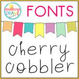 SD Cherry Cobbler Font