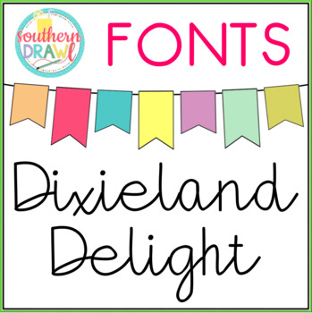 SD Dixieland Delight Font