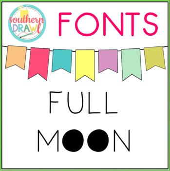 SD Full Moon Font