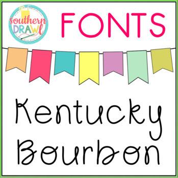 SD Kentucky Bourbon Font