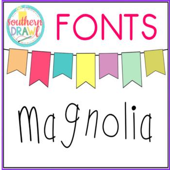 SD Magnolia Font