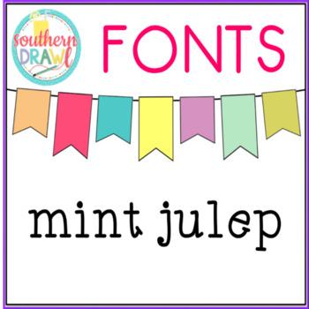 SD Mint Julep Font