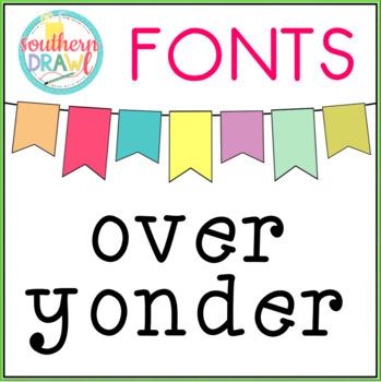 SD Over Yonder Font