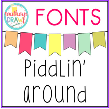 SD Piddlin' Around Font