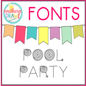 SD Pool Party Font