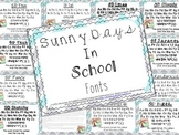 SD School Fonts