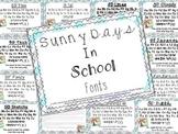 SD School Fonts