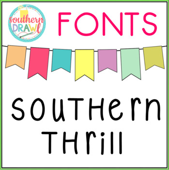 SD Southern Thrill Font