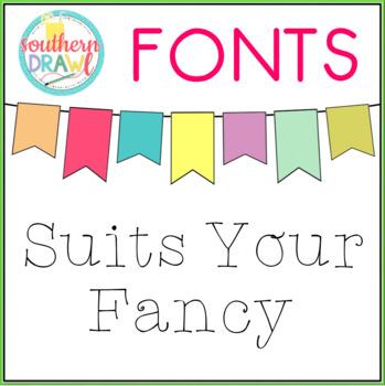 SD Suits Your Fancy Font