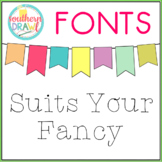 SD Suits Your Fancy Font