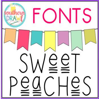 SD Sweet Peaches Font