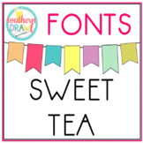 SD Sweet Tea Font FREEBIE