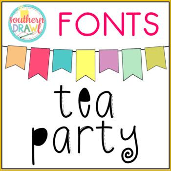 SD Tea Party Font