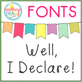 SD Well, I Declare! Font
