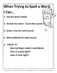 Guided Spelling Posters and Word List