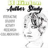 SE Hinton Author Study, The Outsiders Novel Unit, Outsider