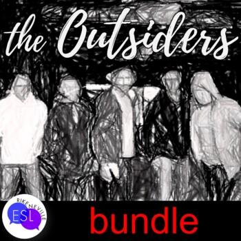 SE Hinton's THE OUTSIDERS bundle