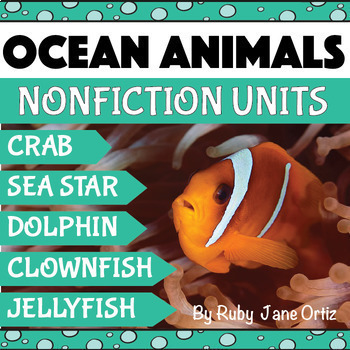 Ocean Animals Activities Bundle