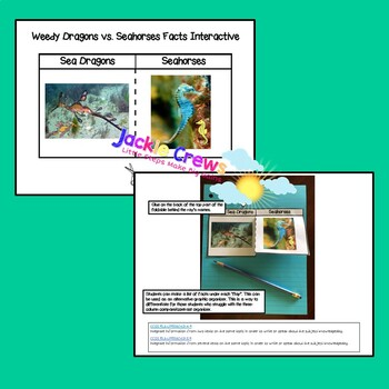 SEA DRAGONS VS. SEAHORSES: Integrating Information & Combining Text