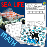 SEA LIFE Math: Addition and Subtraction - Roll & Cover - G