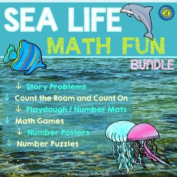 SEA LIFE Math BUNDLE - Interactive Math Center Activities