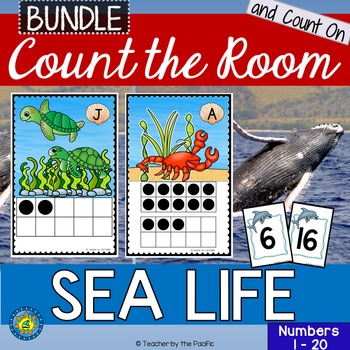 SEA LIFE Math Center: Count the Room and Count On Numbers