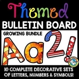 SEASONAL AND HOLIDAY BULLETIN BOARD LETTERS PRINTABLE (CLASSROOM DECOR BUNDLE)