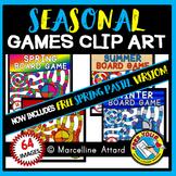 SEASONAL BOARD GAMES CLIPART: SEASONAL CLIPART: SEASONAL G