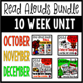 FALL and WINTER Read Alouds Picture Book Activities Bundle