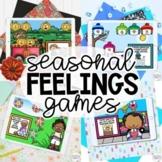 SEASONAL FEELINGS IDENTIFICATION Scenarios Games BUNDLE!