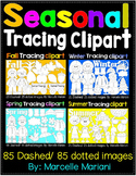 SEASONAL PICTURE TRACING CLIP ART