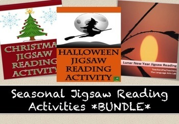 SEASONAL READING ACTIVITY BUNDLE