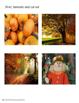 SEASONAL SORT with ASL File Folder Game
