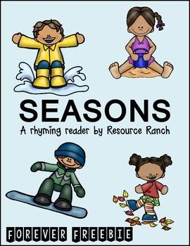 SEASONS - Rhyming Reader - FREE