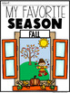 SEASONS Scavenger Hunt and Projects DISTANCE LEARNING