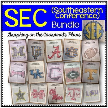 Graphing on the Coordinate Plane (SEC Bundle)