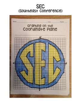 SEC (Coordinate Graphing Activity)