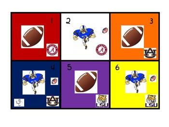 SEC Football Calendar Pattern