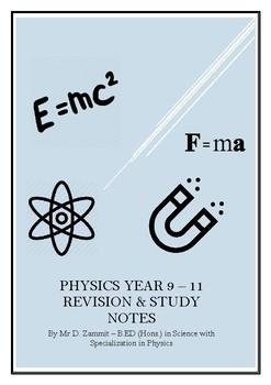 SEC O-Level Physics Short Notes