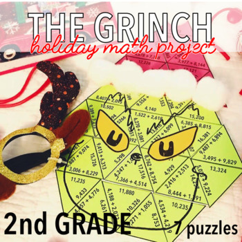 SECOND GRADE CHRISTMAS MATH PROJECT - THE GRINCH